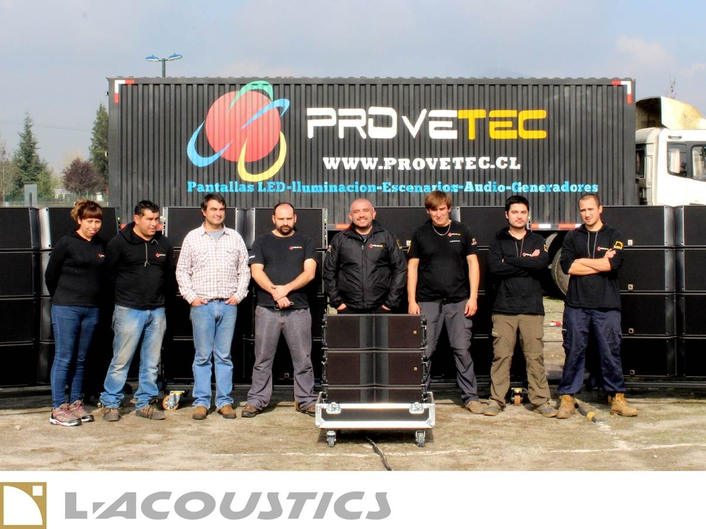 Provetec invests in first L-Acoustics K2 system in Chile