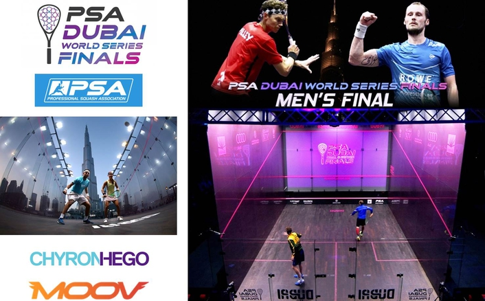 MOOV BRINGS CUTTING EDGE AUGMENTED REALITY TECHNOLOGY TO PSA DUBAI WORLD SERIES FINALS 2016
