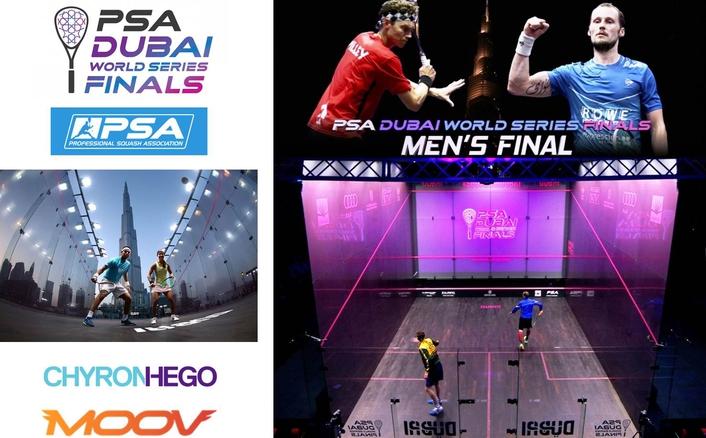 MOOV BRINGS CUTTING EDGE AUGMENTED REALITY TECHNOLOGY TO PSA DUBAI WORLD SERIES FINALS 2016