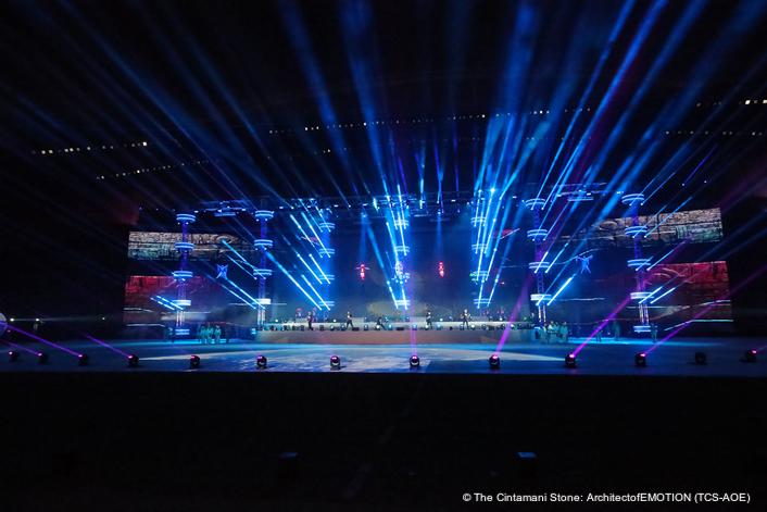 Lighting The Wega Global Games Oc In Doha Live Production Tv