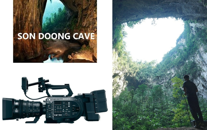 PXW-FS7 II shoots 4K HDR inside world's largest cave