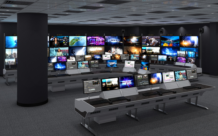 Solutions implemented into the media company's new headquarters creates single production workflow