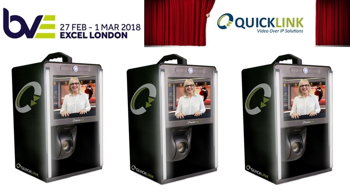 Quicklink to demonstrate Studio-in-a-box at BVE 2018