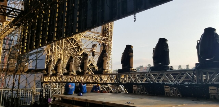 Telos Infinity IP Intercom Rocks Lollapalooza Brazil