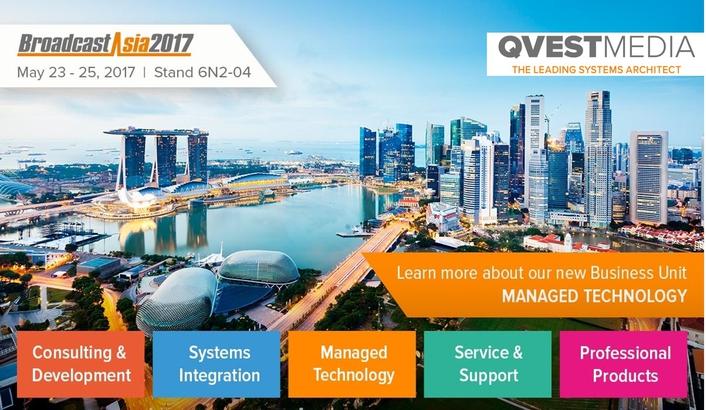 QVEST MEDIA @ Broadcast Asia 2017