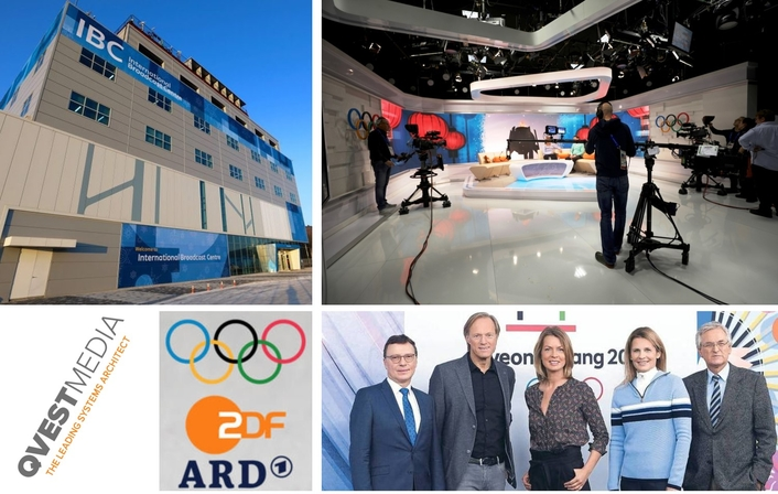 Qvest Media equips ARD and ZDF for the Winter Games in South Korea