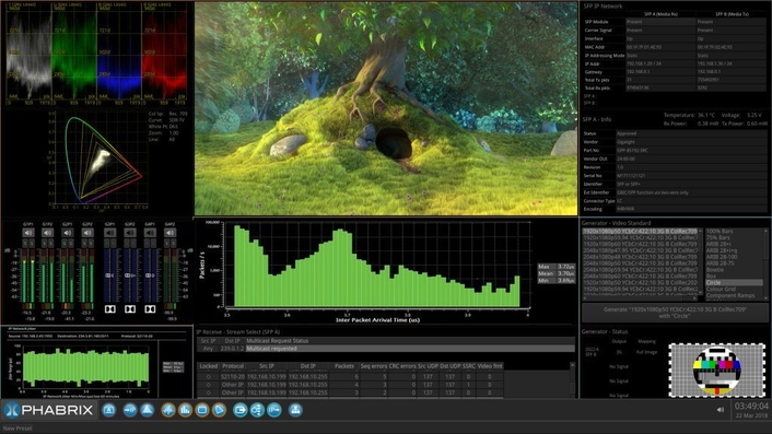 PHABRIX to present SMPTE ST 2110, ST 2022-6, HDR and 4K/UHD test and measurement solutions at NAB 2018
