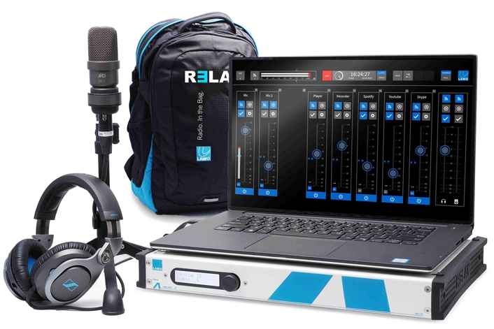 Lawo RƎLAY Virtual Radio Mixer Now Shipping