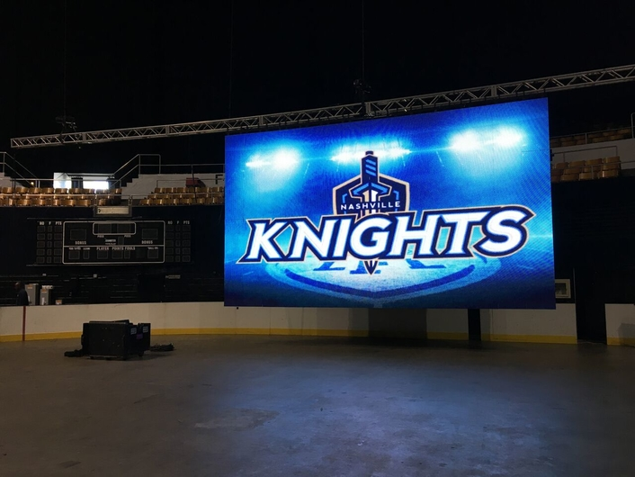 Elite Multimedia Productions takes the field with the Nashville Knights