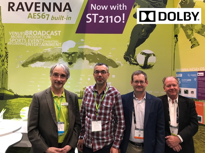 Dolby engages in RAVENNA Partnership