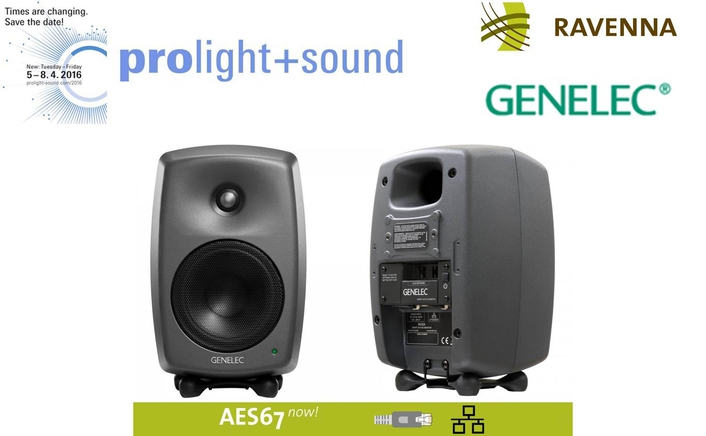 RAVENNA gears up for ProLight & Sound 2016