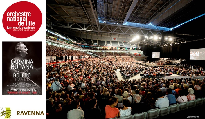 Largest ever full RAVENNA implementation for live event in Lille