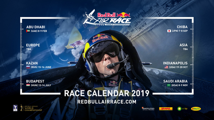 Red Bull Air Race 2019 calendar revealed