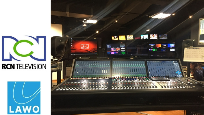 RCN Colombia upgrades with Lawo in studio refurbishment
