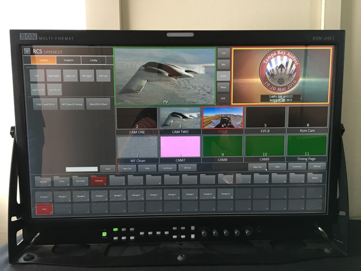 UpperCut Broadcast Studio-in-a-Box and Proprietary Social Media Software toEnliven Event Footage with Compelling Graphics
