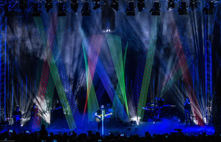 Stage and lighting design category: Rea Garvey – Get Loud Open Air Tour 2016