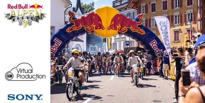 Sony announces new Virtual Production service with Red Bull