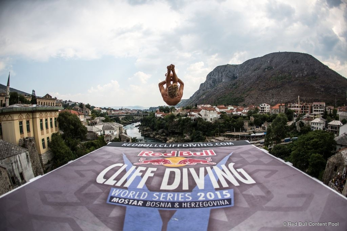 Red Bull Cliff Diving World Series 2015 Mostar