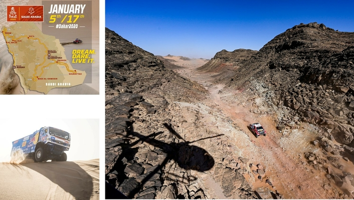 De Villiers makes up time on Dakar Rally car leaders during stage eight