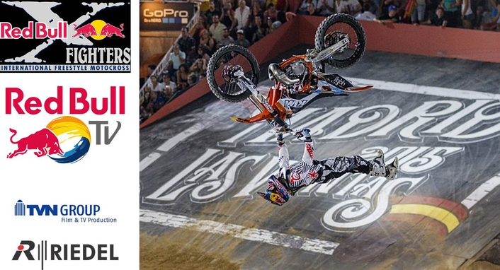 Red Bull X-Fighters World Tour stop at Madrid's Plaza de Toros de Las Ventas
