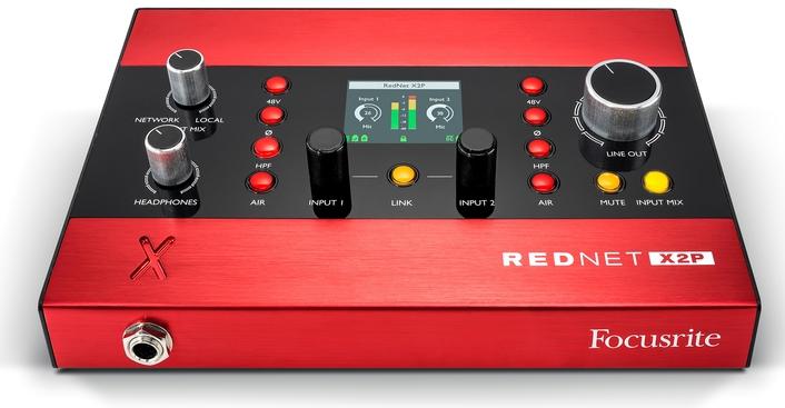 Focusrite Announces New RedNet X2P Interface