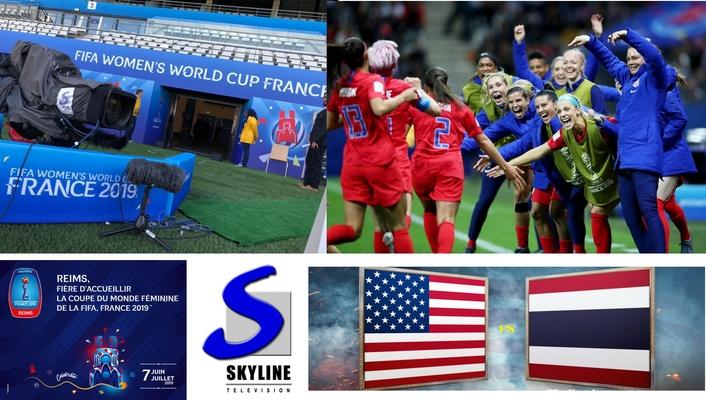 TV Skyline's Ü8 covered USA's 13-0 win over Thailand