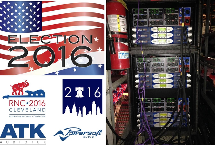 Powersoft Electrifies America's Two National Conventions