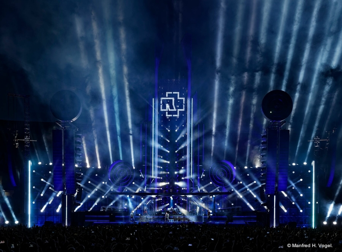 VL6000 Beams deliver stadium-scale spectacle for Rammstein
