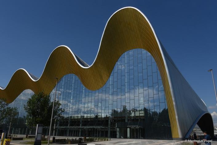 Elation flexibility on display at new Rhythmic Gymnastics Centre in Moscow