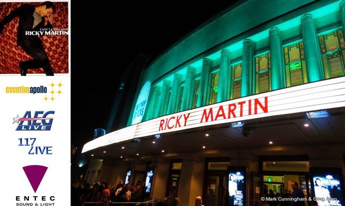 RICKY MARTIN LIVES LA VIDA FOR AUTISM ROCKS