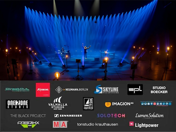 'Around the World in 80 Milliseconds'  RRN, Riedel, TV Skyline, The Black Project, and Partners Produce the World's First Fully Decentralized Remote Show Event