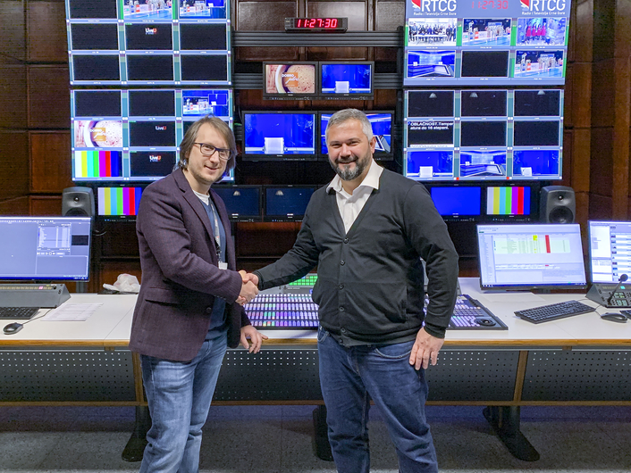 Riedel MediorNet, Artist, and Bolero Provide Comprehensive Signal Transport and Comms Backbone for Montenegro Public Broadcaster RTCG