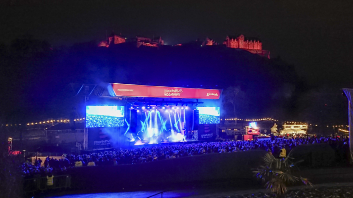 Riedel Artist, Bolero, and MediorNet Help Usher in 2020 for First-Ever Live Stream of Edinburgh's Hogmanay 19 Celebration
