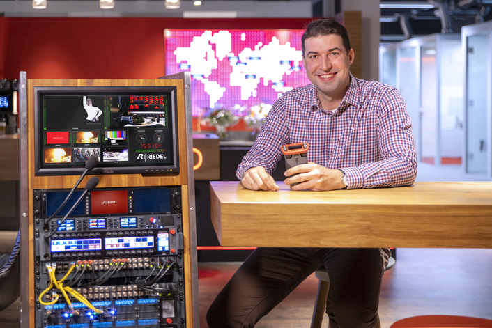 Marcin Jakowczyk Promoted to Sales Manager for Riedel Communications in Poland