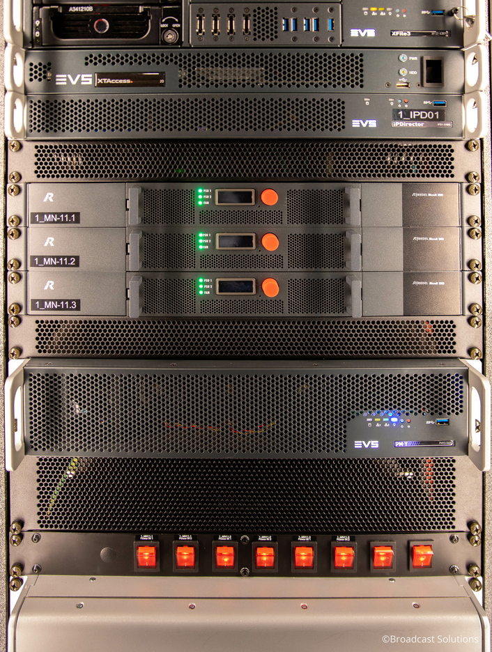 Riedel's New MediorNet MicroN UHD Signal Distribution Devices Drive UHD Broadcasts for WDR's Newest OB Van