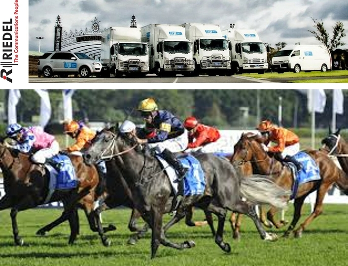 Riedel Bolero, MediorNet, and Artist Power Video and Comms Infrastructure for Australia's Thoroughbred Racing Productions
