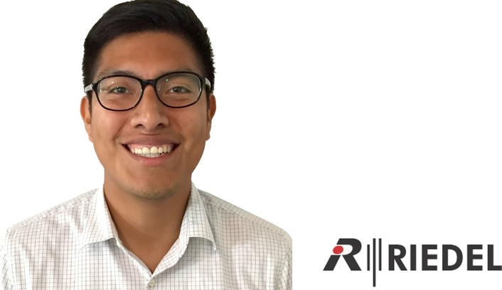 Alfred Monterrubio Joins Riedel Communications' North America Technical Services Staff