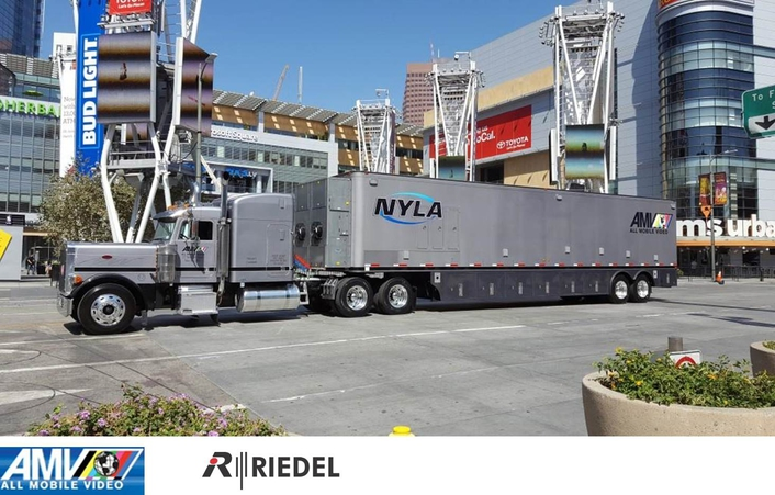 All Mobile Video West Coast Upgrades Popular Mobile Unit With Riedel Communications Artist Intercom System