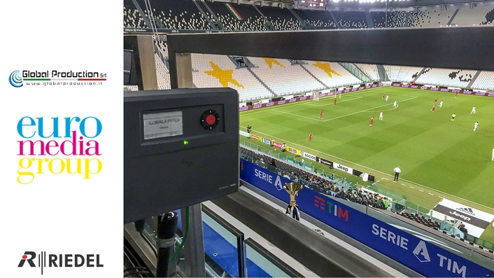 OB Provider Global Production - EMG Italy Chooses Riedel's Bolero for Crisp Communications and Greater Efficiency