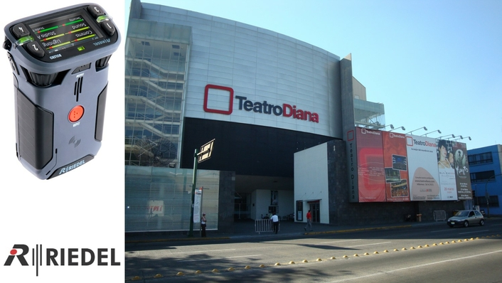 Upgrade to Riedel Bolero Wireless Intercom Brings High-Quality and Reliable Communications to Teatro Diana in Guadalajara, Mexico