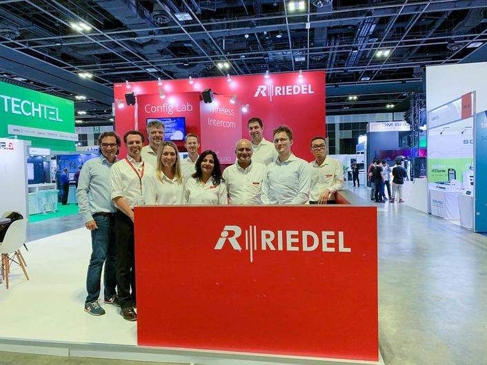 Riedel at BroadcastAsia 2019