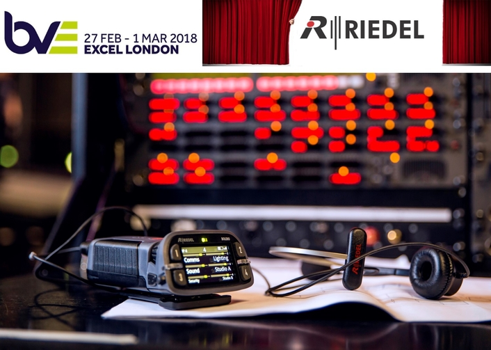 BVE 2018 Product Preview Riedel Communications Stand L26
