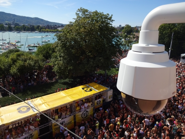 Riedel's Artist Powers Seamless Communications Network and CCTV System for Zurich's Gigantic Street Parade