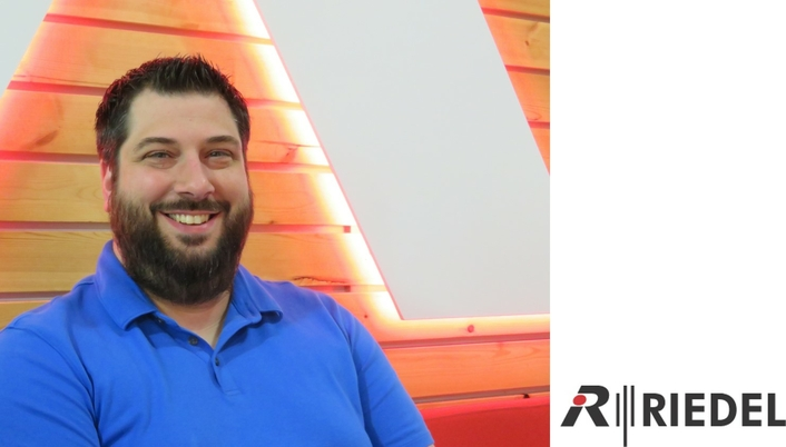 Daniel Bakies Joins Riedel as Project Manager for U.S. System Consulting Team