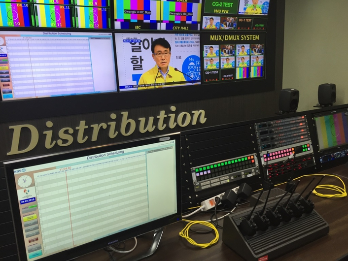 Riedel Gear Helps Korea's KBS Produce International Feed for 2015 Gwangju Summer Universiade