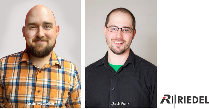 Riedel Expands North America Technical Services Staff With Two New Hires
