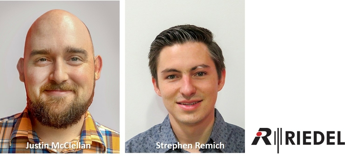 Riedel North America Promotes Justin McClellan to Business Development Manager and Stephen Remich to System Consultant