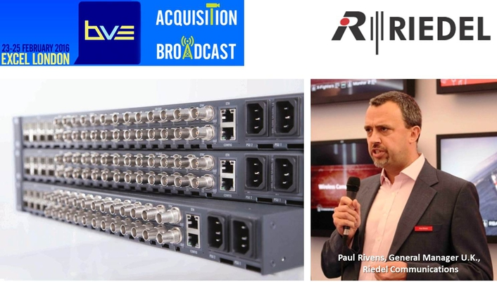 Riedel Products at BVE2016