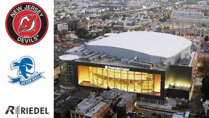 Riedel's MediorNet, Artist, and Bolero Form All-New Routing and Communications Backbone at New Jersey's Prudential Center