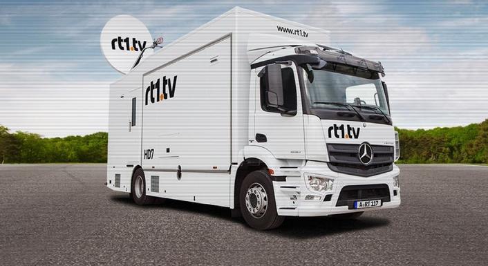 rt1.tv Chooses Riedel's MediorNet and Artist for New OB Vans